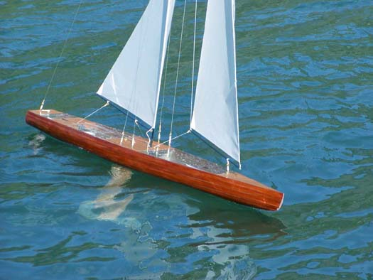 Radio Control Model Sailboat T37 Rc Pond Yacht Radio