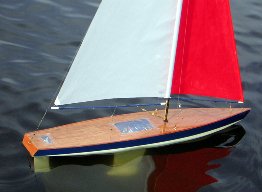 radio control sailboats, rc trimaran multihull, wooden toy ...