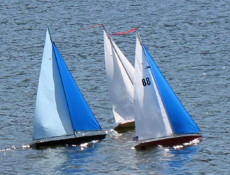 radio control model sailboat t37 rc pond yacht radio ...