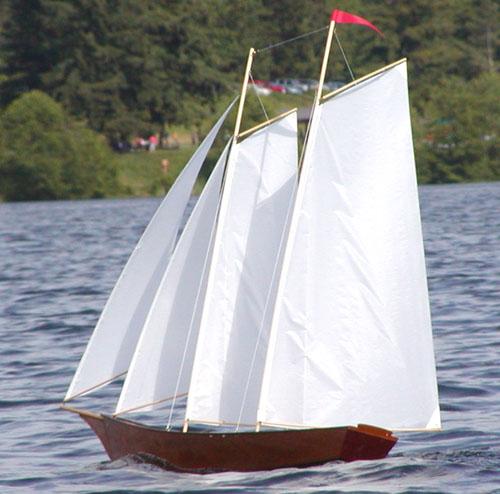 This Building large sailboat ~ Jamson